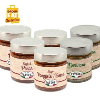 Kit Sughi Pesce Marchigiani - Group Eat - Acquisti di Gruppo Social Commerce