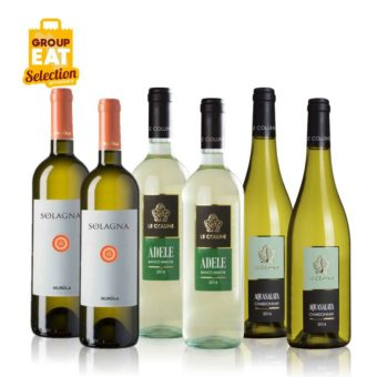 Kit Vini Bianchi Misti Marchigiani Confezione da 6 Bottiglie di Vino - Acquisti di Gruppo GAS Sociali Commerce