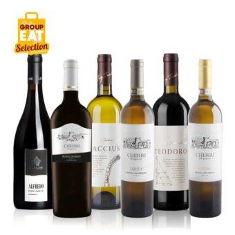 Kit Vini Gamma Alta Rossi e Bianchi Marchigiani Confezione da 6 Bottiglie - Acquisti di Gruppo GAS Sociali Commerce