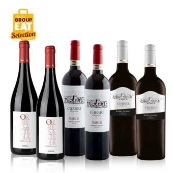 Kit Vini Rossi Marchigiani Confezione da 6 Bottiglie di Vino - Acquisti di Gruppo GAS Sociali Commerce